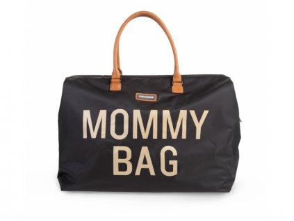 Childhome Přebalovací taška Mommy Bag Big Black Gold