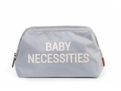 Childhome Toaletní taška Baby Necessities Off White