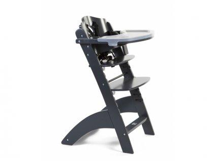 Childhome Rostoucí židle Lambda 3 Anthracite