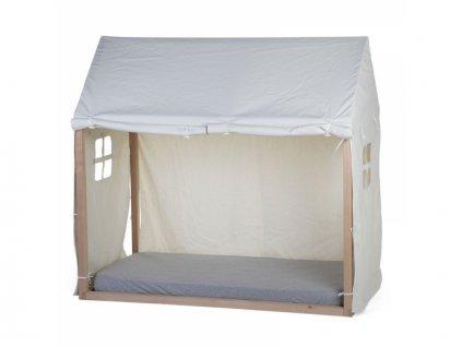 Childhome Textilní potah Tipi White na rám postele Domek 70x140cm