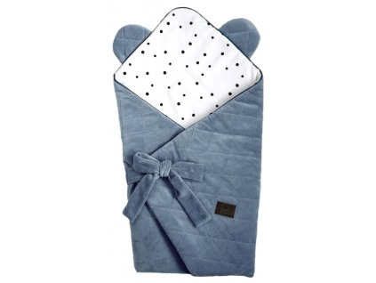 Zavinovačka Royal Baby Swaddle Wrap modrá