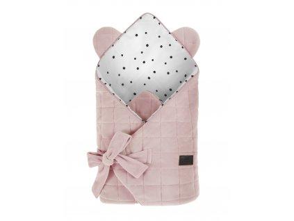 Zavinovačka Sleepee Royal Baby Swaddle Wrap růžová