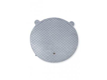 hrací deka royal baby šedá