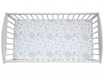 10838 prosteradlo sleepee we care lucni kviti 120x60 cm 2