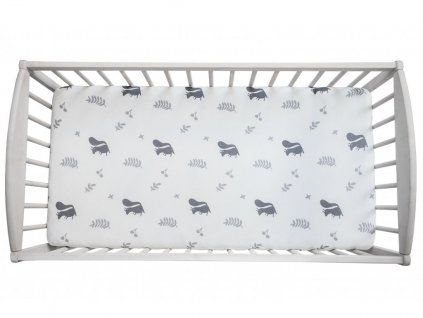 10841 prosteradlo sleepee we care veverky 120x60 cm