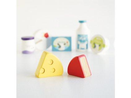 Le Toy Van Dřevěná bedýnka s vejci a mlékem