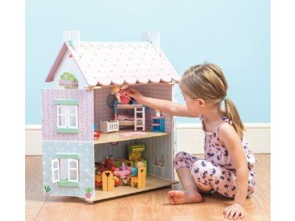 13779 le toy van domecek pro panenky sweetheart cottage