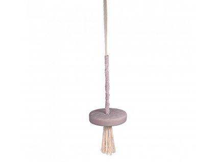 Dětská houpačka Ring Swing Babysteps popelavá fialová