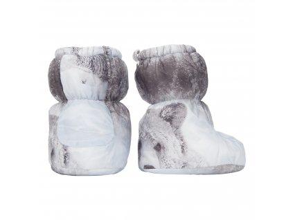 Lodger Dětské zimní capáčky Socker Polyester Print Mist 1