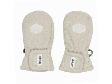 Lodger Dětské rukavice Mittens Botanimal Ivory
