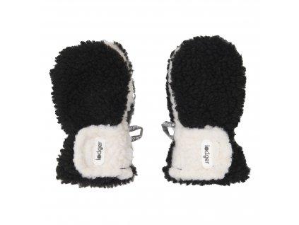 Lodger Dětské rukavice Mittens Teddy Black 1