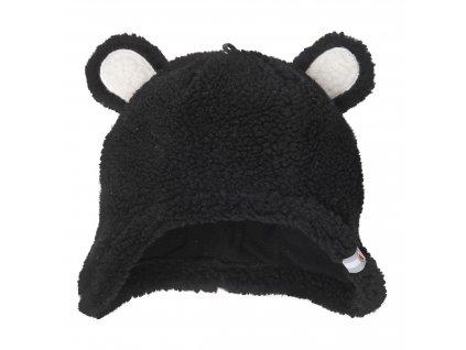 Lodger Dětská čepice Hatter Teddy Black 1