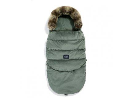 La Millou Dětský rostoucí zimní fusak Aspen Winterproof Combo Khaki