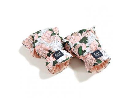 La Millou Univerzální rukavice na kočárek Aspen Winterproof Lady Peony & Powder Pink