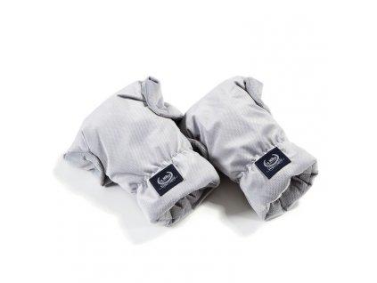 La Millou Univerzální rukavice na kočárek Aspen Winterproof Dark Grey