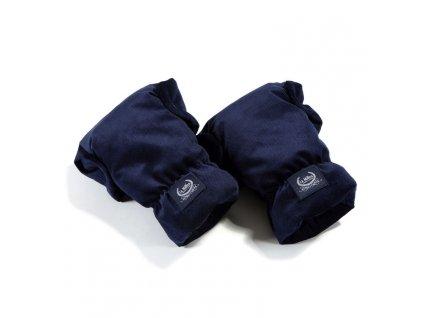 La Millou Univerzální rukavice na kočárek Aspen Winterproof Royal Navy