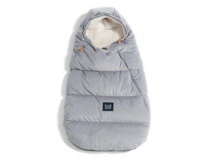 La Millou Zimní a podzimní fusak pro miminko Aspen Winterproof Baby Dark Grey