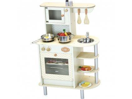 Vilac velká dřevěná kuchyňka pro malé kuchuře