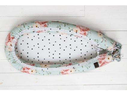 Hnízdečko pro miminko Sleepee Newborn Feel Fiore 1