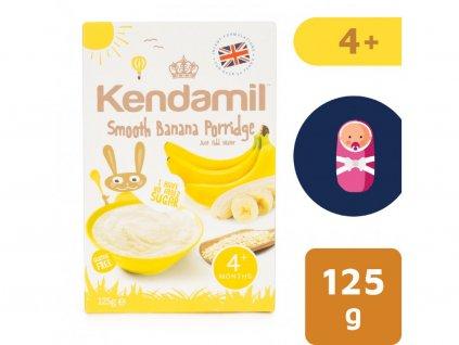 Kendamil Jemná dětská banánová kaše (125g) 2