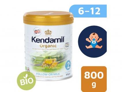 Kendamil 100% BIO:organické plnotučné kojenecké pokračovací mléko 2 (800g) 6