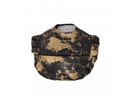 Bib black golden