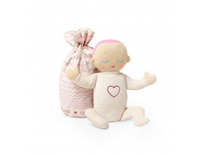 Dýchací panenka Lulla Doll Coral