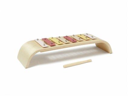 Kids Concept Dětský růžový xylofon NEW