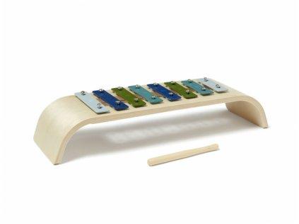 Kids Concept Dětský modrý xylofon NEW pro kluky