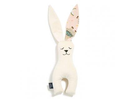 Dětský usínáček La Millou Toy Bunny Raffaelo I´m rainbow baby