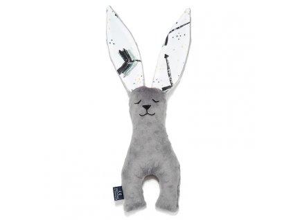 Dětský usínáček La Millou Toy Bunny Grey Boho Royal Arrows