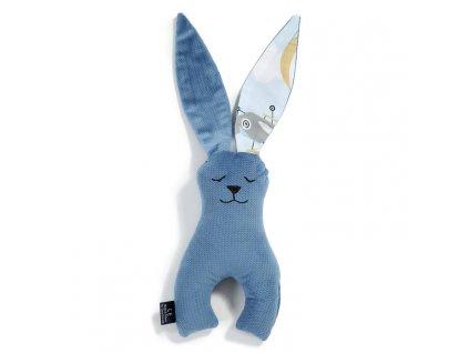 Dětský usínáček La Millou Toy Bunny Denim Captain Adventure