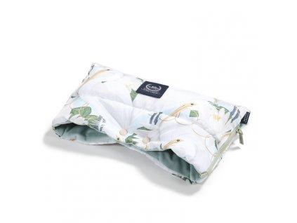 La Millou Univerzální rukávník na kočárek Aspen Winterproof Heron in a cream lotus & Smoke mint