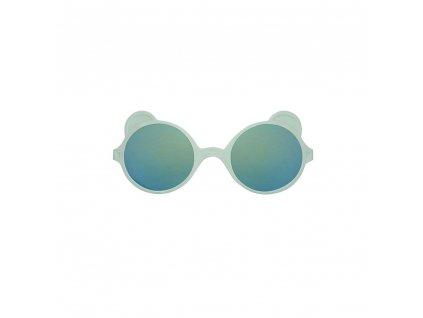 KiETLA sluneční brýle OURS'ON Almond Green 1 2 roky2 4 roky