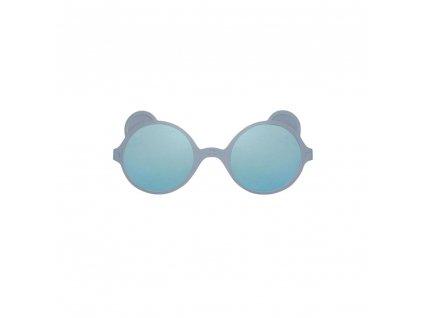 KiETLA sluneční brýle OURS'ON Silver Blue šedomodrá 1 2 roky2 4 roky
