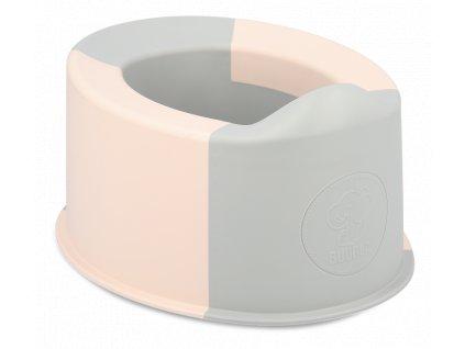 Skládací nočník Buubla růžový