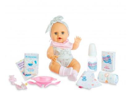 Berjuan Interaktivní panenka s příslušenstvím Baby Susú holčička 38cm