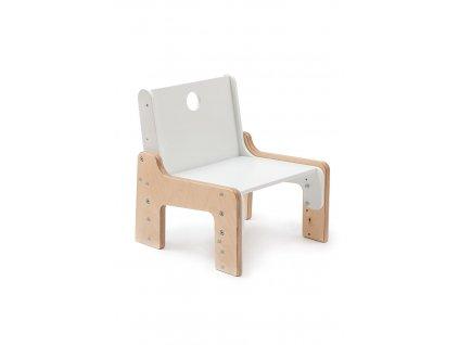 Dětská dřevěná rostoucí židle