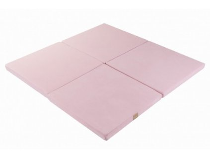Pěnová hrací podložka čtverec růžová (3)