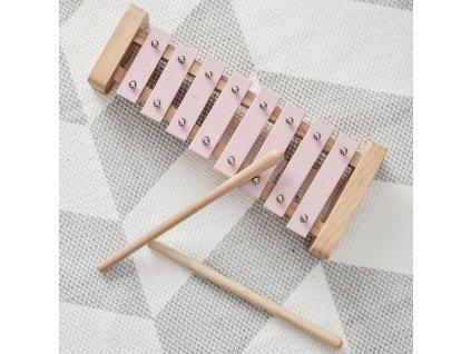 xylofon růzovy