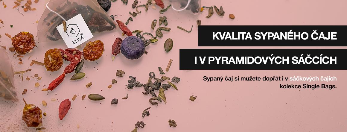 Kvalita sypaného čaje i v pyramidových sáčcích