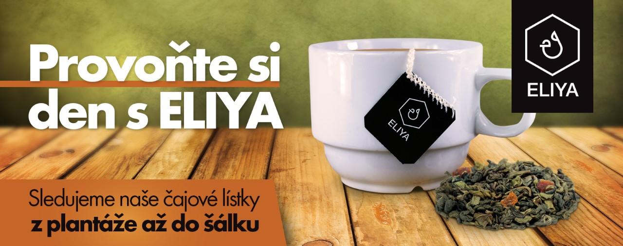 Provoňte si den šálkem čaje ELIYA