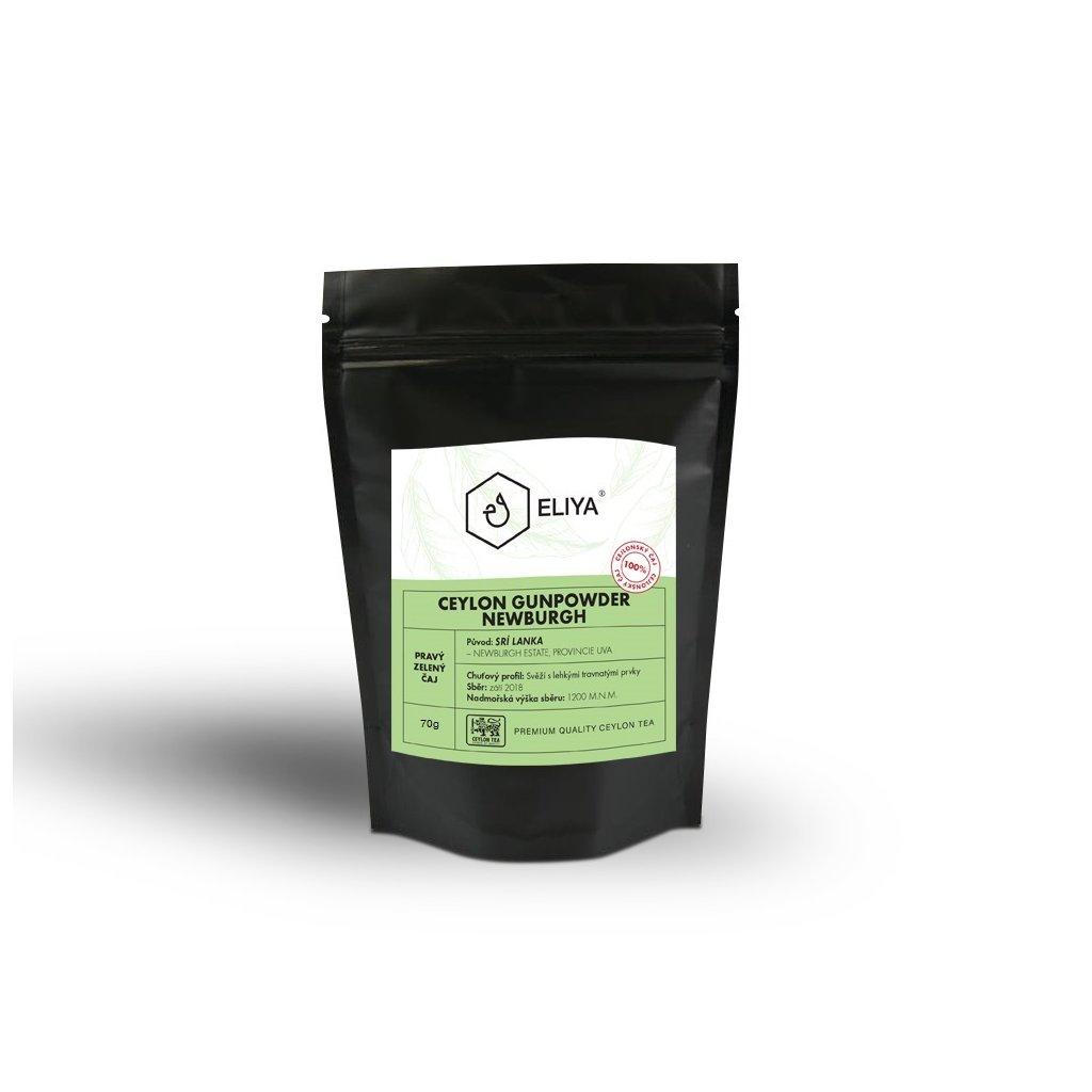 black sacek ceylon gunpowder 70g