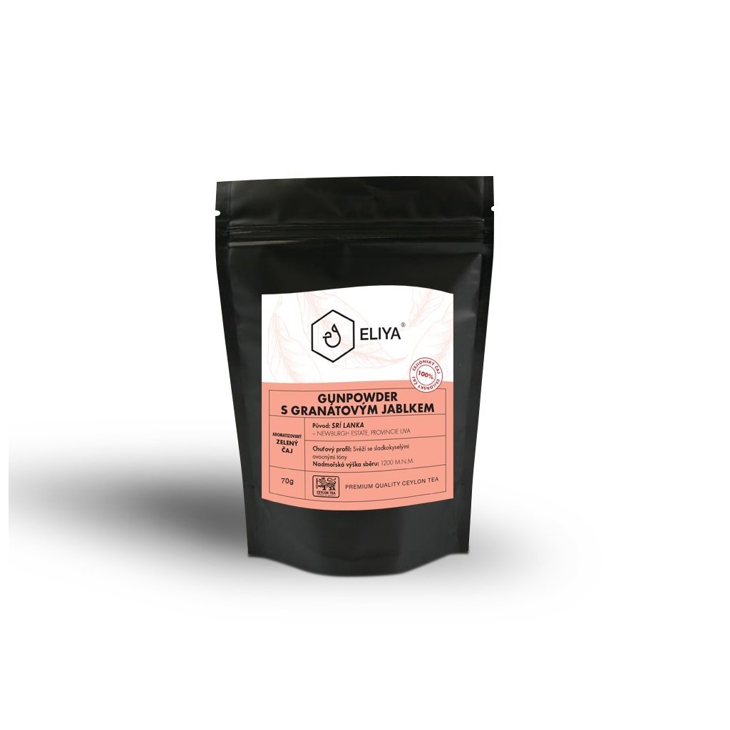black sacek gunpowder granat 70g