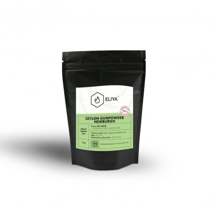 black sacek ceylon gunpowder 70g