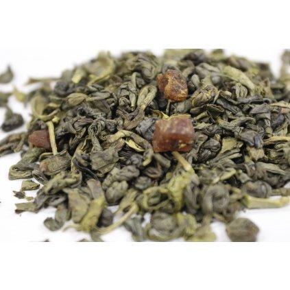 Gunpowder s broskví - zelený čaj [MAXI balení]