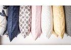 Povlaky na polštářky - autorské látky Wilburrina