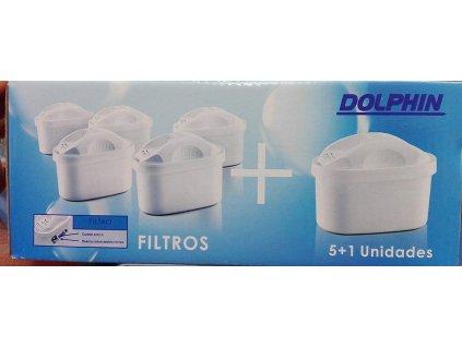 Univerzální filtrační patrony Dolphin DJA6CBQ4 6 kusů - pro konvice Crafft
