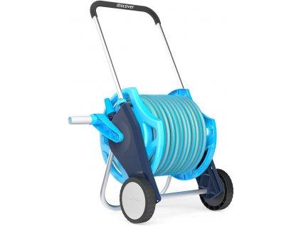 Zahradní hadice s navijákem 25 m Cell Fast Discover / modrá