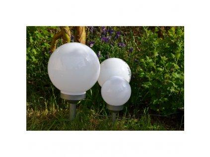 Zahradní solární LED osvětlení koule 15